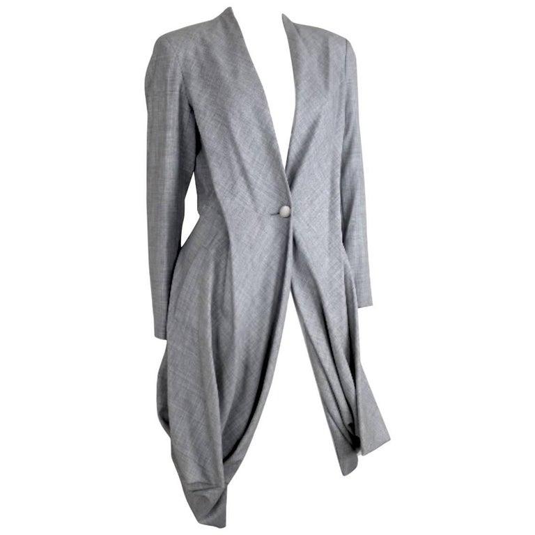 Issey Miyake Vintage 1980s Origami Tailcoat