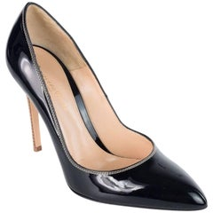 Gianvito Rossi Women's Black Patent Leather Pumps