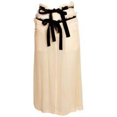 Comme des Garcons Skirt Tricot