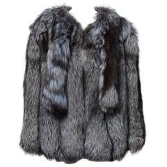 Silver Lilac Fox Fur