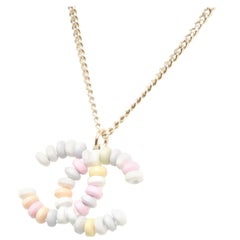 Chanel Sweet Candy CC Pendant Necklace