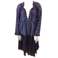 Yvonne S Handmade Navy and Maude Dress