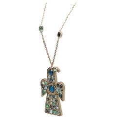 Chanel Byzantine Eagle Necklace