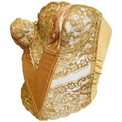 Christian Dior Gold Corset   34C