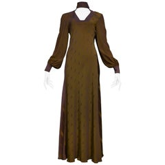 Alice Pollock  Two Tone Cameo Gown 1978