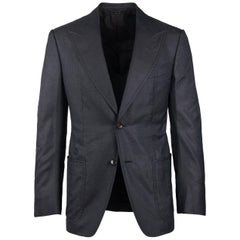 Tom Ford Charcoal Gray Fit D Spencer Sport Jacket