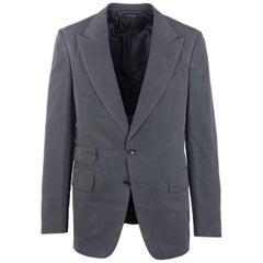 Tom Ford Slate Grey 100% Silk Shelton 2PC Suit