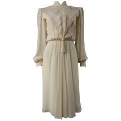 Jean-Louis Scherrer  Couture Dress numbered 004115