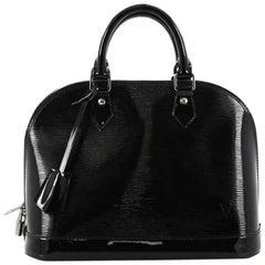 Louis Vuitton Alma Handbag Electric Epi Leather PM