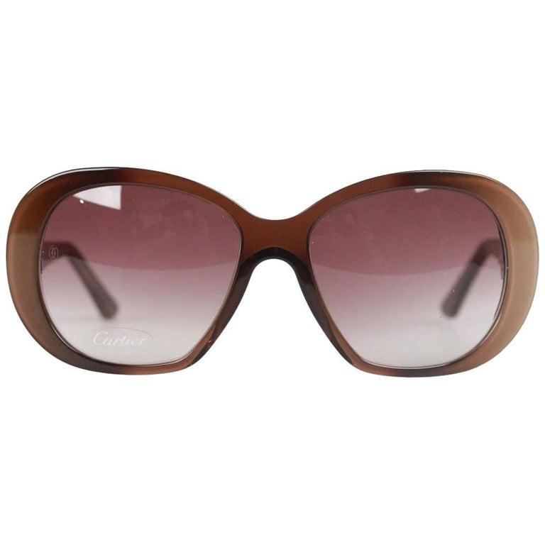 Cartier Paris JANIS T8200794 Beige 54-18 140 Sunglasses