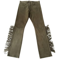 Ralph Lauren RRL Limited Collection Western Fringed Pants