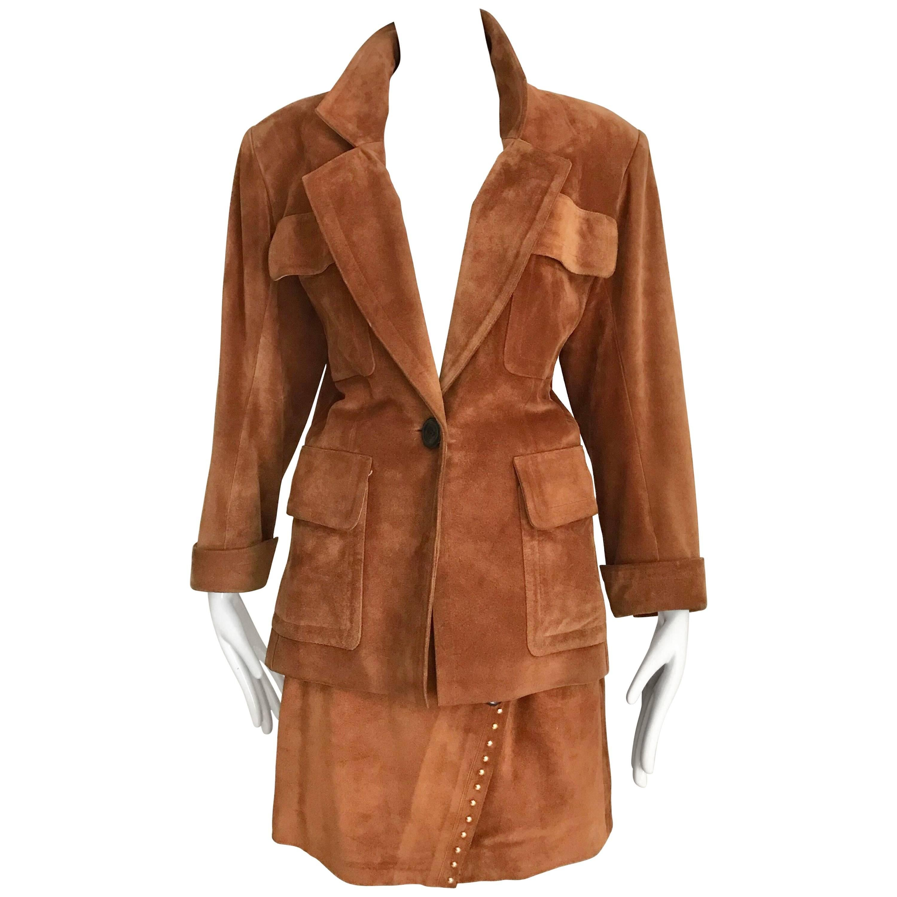 218e5f5b022 Yves Saint Laurent Numbered Haute Couture Le Smoking Suit For Sale at  1stdibs