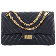 Chanel Reissue 2.55 Handbag Chevron Sheepskin 225
