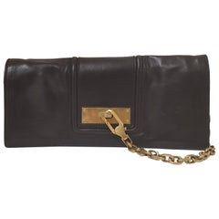 Escada Black Leather Bag