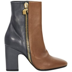 Brown & Black Pierre Hardy Leather Boots