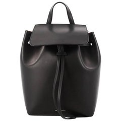 Mansur Gavriel Drawstring Backpack Leather Mini