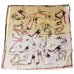 New Jimmy Choo Scarf - Silk w/ Tags - Psychedelic