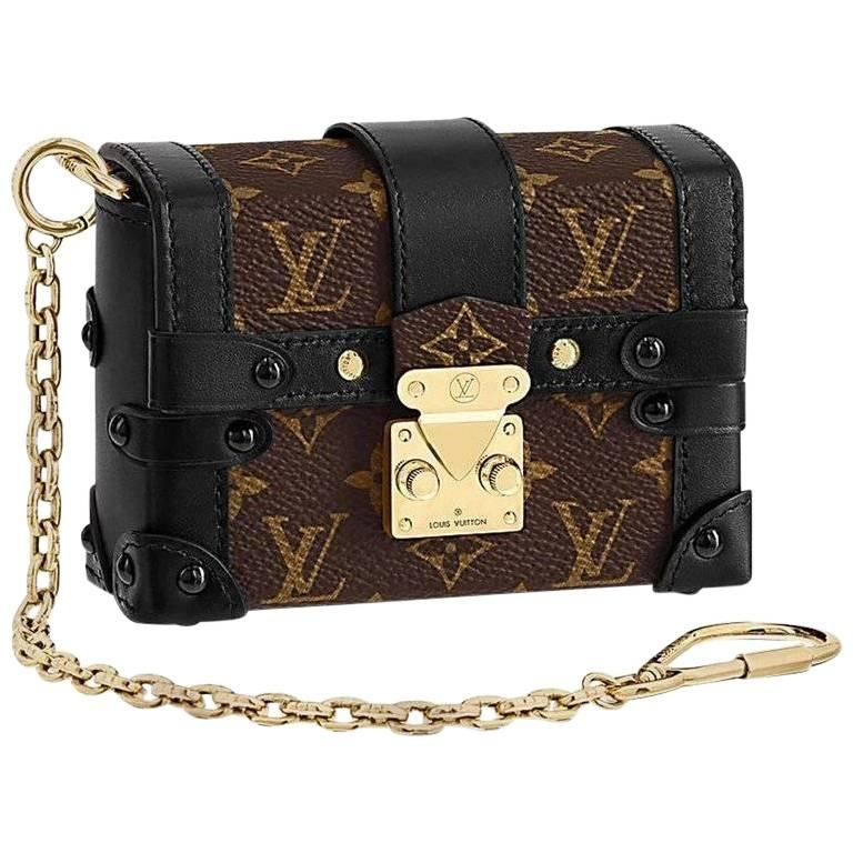Louis Vuitton Runway Miniature Essential Trunk Bag New Last One Available For