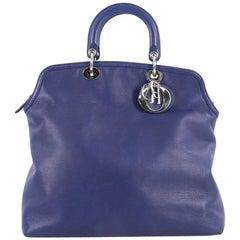 Christian Dior Granville Satchel Leather Large