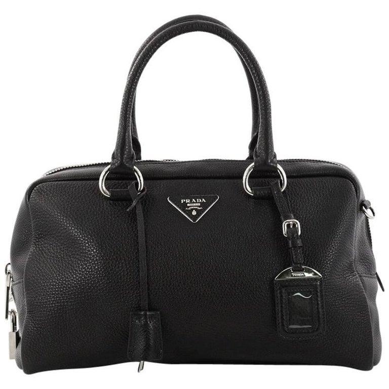 29784c2929 Prada Convertible Bauletto Bag Vitello Daino Medium at 1stdibs