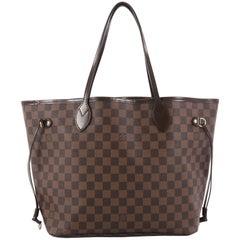 Louis Vuitton Neverfull Damier MM Tote Bag
