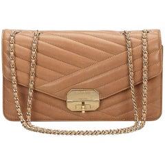 Tan Chanel Medium Gabrielle Flap Bag
