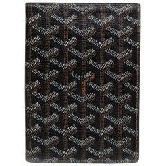 Goyard Black Goyardine Porte-Feuille Wallet