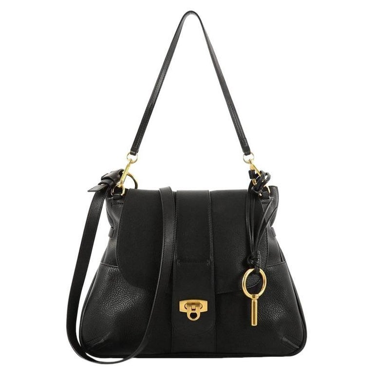 Chloe Lexa Crossbody Bag Leather Medium