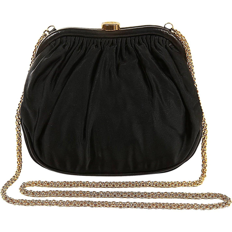 2bc7613d2cdf Chanel Black Vintage Framed Evening Bag For Sale at 1stdibs