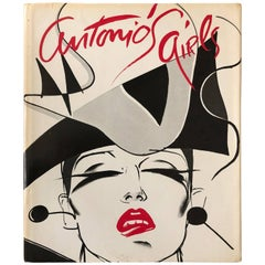 Antonio's Girls by Antonio Lopez FIrst Edition Book