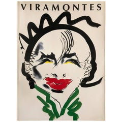 Tony Viramontes Fashion Illustration Book from Japan