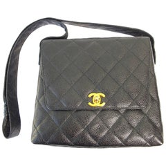 Chanel Black Caviar Shoulder Bag