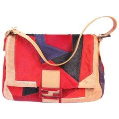 Fendi Pony Geometric Bag