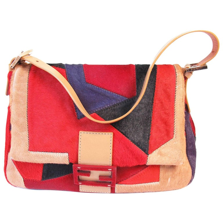dcdce20dc796 Fendi Pony Geometric Bag For Sale at 1stdibs