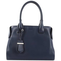 Tod's Cape Satchel Leather Small