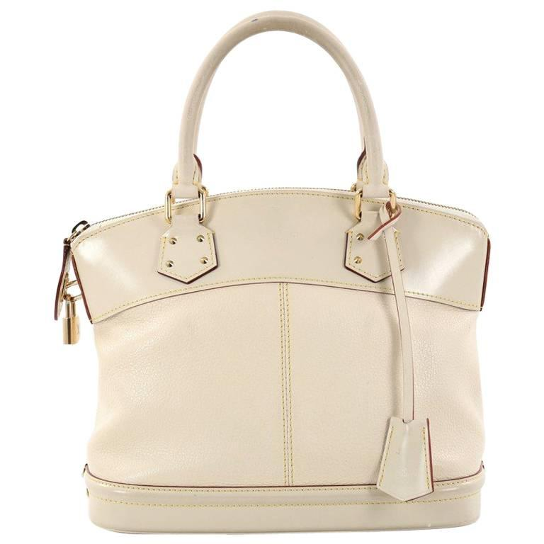Louis Vuitton Suhali Lockit Handbag Leather Pm mz9Wk3