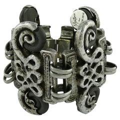 Claude Montana Claire Deve Arabesques Cuff Bracelet