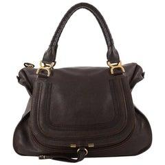 Chloe Marcie Shoulder Bag Leather Large