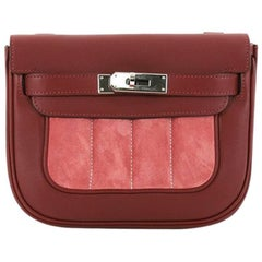 Hermes Berline Handbag Doblis Suede and Swift 21