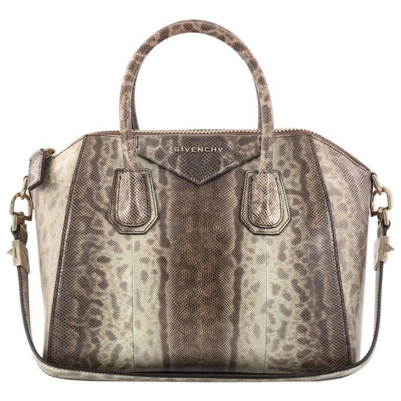ee1ac8c2a68c Givenchy Antigona Bag Snakeskin Small at 1stdibs