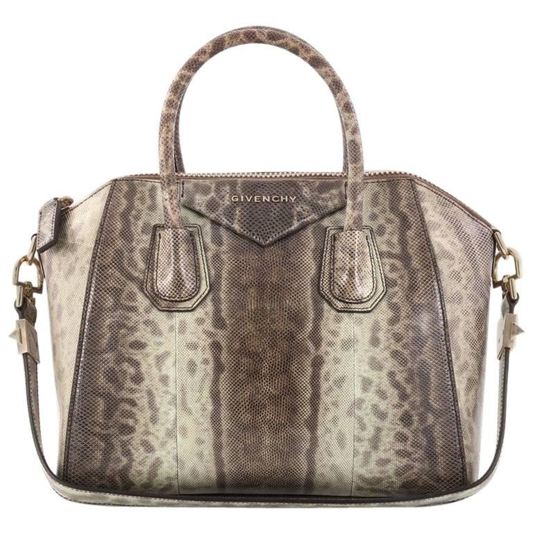 Givenchy Antigona Bag Snakeskin Small