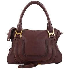 ChloeMarcie Satchel Leather Medium