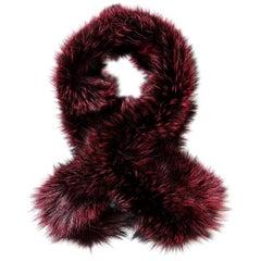 Verheyen London Lapel Cross-through Collar in Soft Ruby