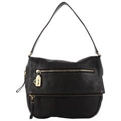 Salvatore Ferragamo Selma Shoulder Bag Leather Medium