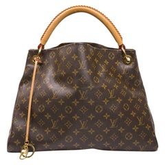 LOUIS VUITTON 'Artsy' Bag Large Model in Brown Monogram Canvas