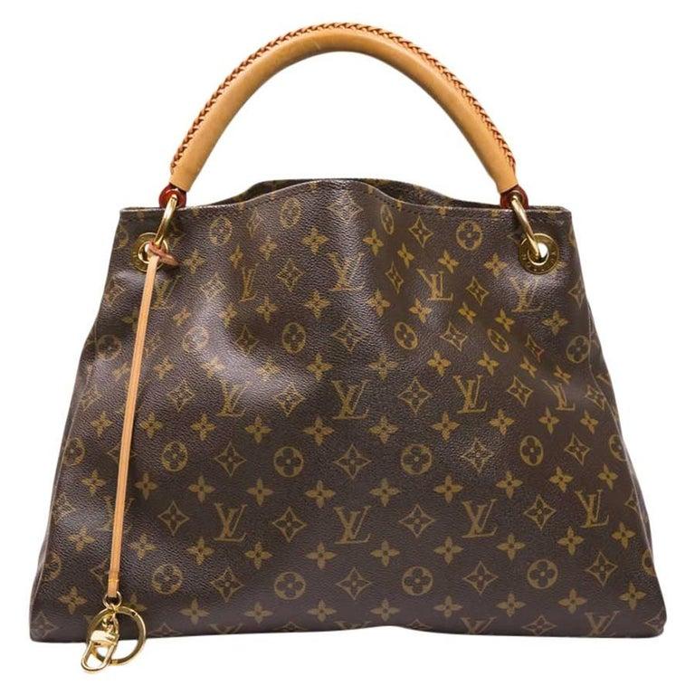 Louis Vuitton Artsy Bag Large Model In Brown Monogram Canvas