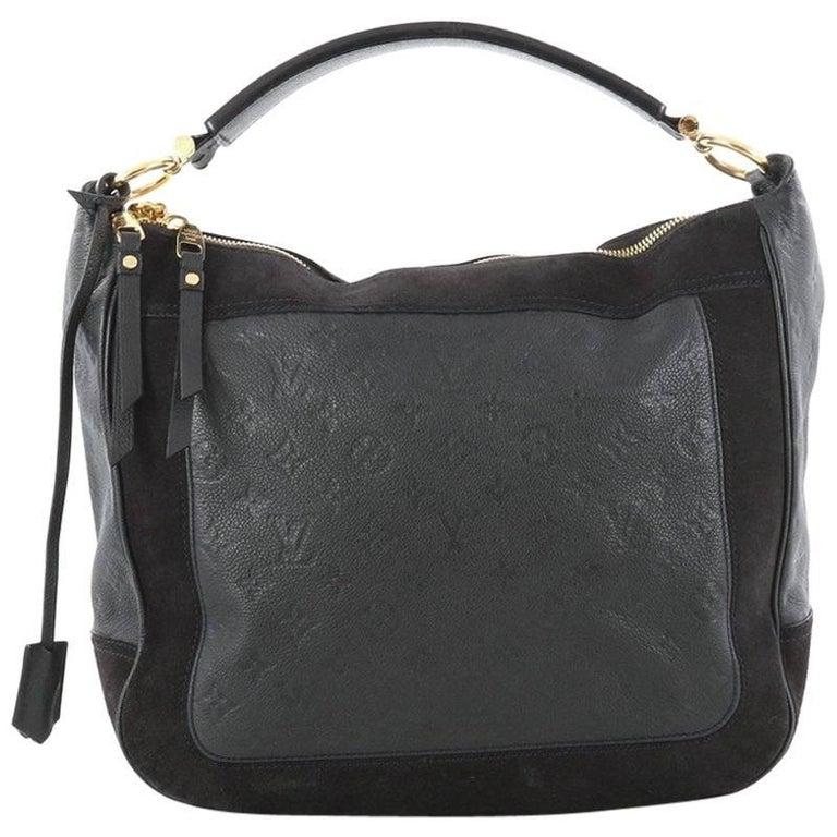 81e4c62242bbb Louis Vuitton Audacieuse Handbag Monogram Empreinte Leather MM For Sale