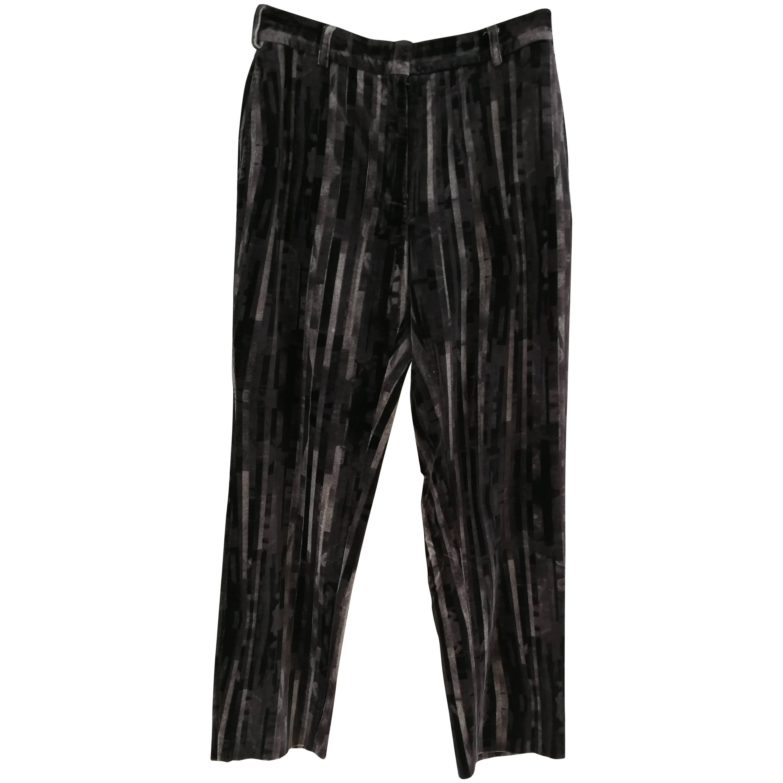 Moschino Cheap & Chic Grey Velvet trousers