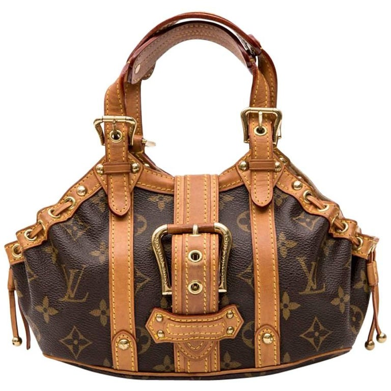 LOUIS VUITTON Mini Bag in Brown Monogram Canvas