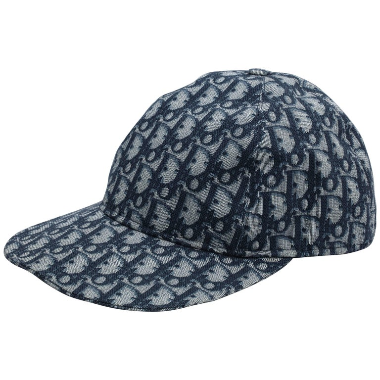 John Galliano for Christian Dior Cap with Logos at 1stdibs ab35188f56e